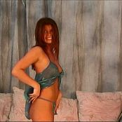 Halee Model Sheer Teal Nighty Video