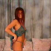 Halee Model Sheer Teal Nighty Video