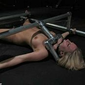 Harmony Rose Lying on Back Tied Up Pussy Torture BDSM Video