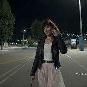 Jeny Smith Summer Night Walk HD Video