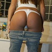 Katies World Jeans & White T Part #1 Picture Set 199