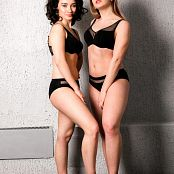 TaoZips Alice & Sarah Sexy In Black Picture Set