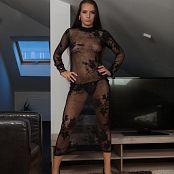 TeenMarvel Petra Black Mesh Picture Set & HD Video