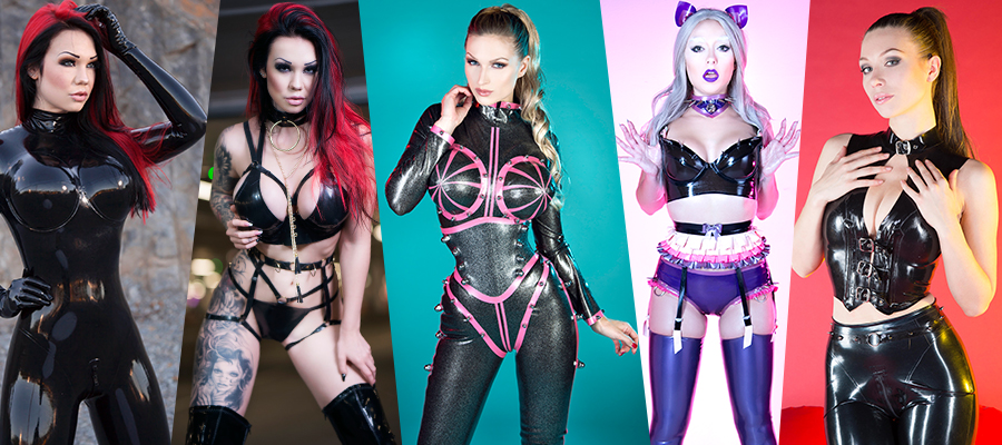 Terminal-F.com Sexy Latex Models Picture Sets & Videos Siterip