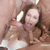 Tina Kay 7 on 1 Double Anal Gangbang & Gokkun Swallow GIO333 HD Video