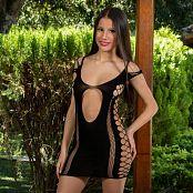 Britney Mazo Black Mini Dress TBS Picture Set 014