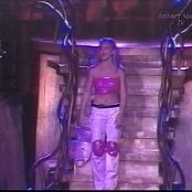 Britney Spears School Roll Call Memphis Pink Latex Live 1998 Video