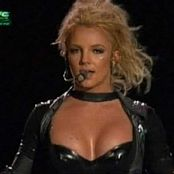Britney Spears Showdown Live Onyx Hotel Lisboa Black Latex Catsuit DVDR Video