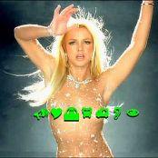 Britney Spears Toxic Nude Glittering Catsuit Karaoke Version Video
