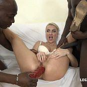 Iskra MILF Whore Enjoys Double Black Cock IV054 HD Video