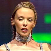 Kylie Minogue Sexy Silver Outfit Best Off Video