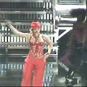 Britney Spears Sexy Red Shiny Corset Live Toronto Onyx Tour Video
