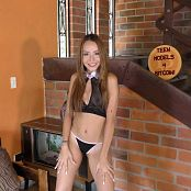 Mellany Mazo Sheer Top & Black Thong TBS 4K UHD & HD Video 017