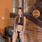 Mellany Mazo Sheer Top & Black Thong TBS 4K UHD & HD Video 017