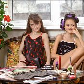 TeenModelingTV Yuliya & Sasha Pajamas Picture Set 1 & 2