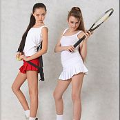 TeenModelingTV Yuliya & Sasha Tennis Picture Set