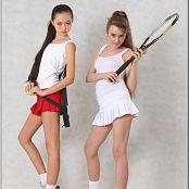 TeenModelingTV Yuliya & Sasha Tennis Picture Set