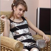 TeenModelingTV Yuliya Sparkle Mini Picture Set