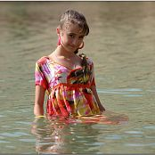 TeenModelingTV Yuliya Waterdress Picture Set