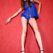Young Gusel Crazy Smoking Girl Picture Set