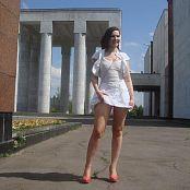 Jeny Smith White Dress Picture Set