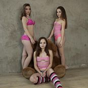 MarvelCHarm Rebecca, Ariana & Karina Triple Treat Picture Set