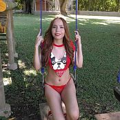Mellany Mazo Cutoff T-Shirt TM4B HD Video 007
