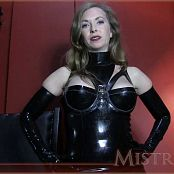 Mistress T Mezmerised By Latex HD Video