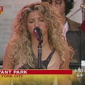 Shakira La Tortura Live Good Morning America Video