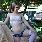 Silver Starlets Mia Denim Shorts Picture Set 3