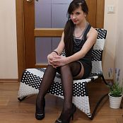 Silver Starlets Sarah Stockings Picture Set 4