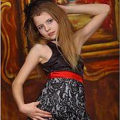 TeenModelingTV Angelica Fancy Dress Picture Set