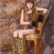 TeenModelingTV Bella Leopard Picture Set