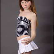 TeenModelingTV Bella Stripes Picture Set 001 & 002