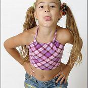 TeenModelingTV Khloe Purple Top Picture Set