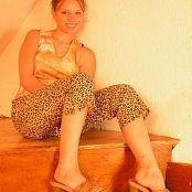 TeenModelingTV Sveta Leopard Print Pants Picture Set