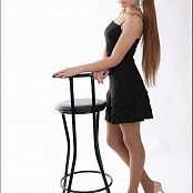 TeenModelingTV Valerie Little Black Dress Picture Set