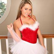 TeenStarlet Aubrey Santa Ballerina Picture Set & HD Video 008