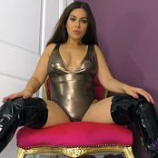 Worship Jasmine Silver Latex JOI HD Video