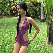 Ximena Gomez Purple Lingerie TM4B HD Video 023