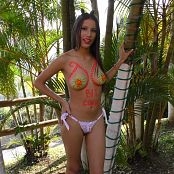 Britney Mazo White Thong & Body Paint TBS 4K UHD & HD Video 025