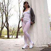 Jeny Smith White Pantyhose HD Video