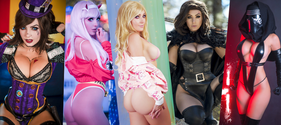 Jessica Nigri Patreon Picture Sets & Videos Update #1 Siterip
