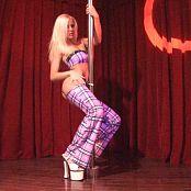Megan Summers Sexy Schoolgirl Stripper HD Video