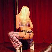 Megan Summers Sexy Schoolgirl Stripper Picture Set