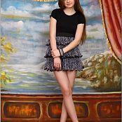 TeenModelingTV Bella Zebra Skirt Picture Set