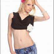 TeenModelingTV Ella Skinny Denim Picture Set