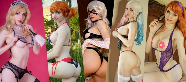 Cosplay Spotlight Amouranth As Android Part Woxtube 1