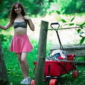 Ariel Rebel Changing In The Forest Picture Set