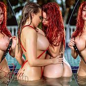 Bianca Beauchamp & Carrie LaChance Bikini Illustrated Picture Set